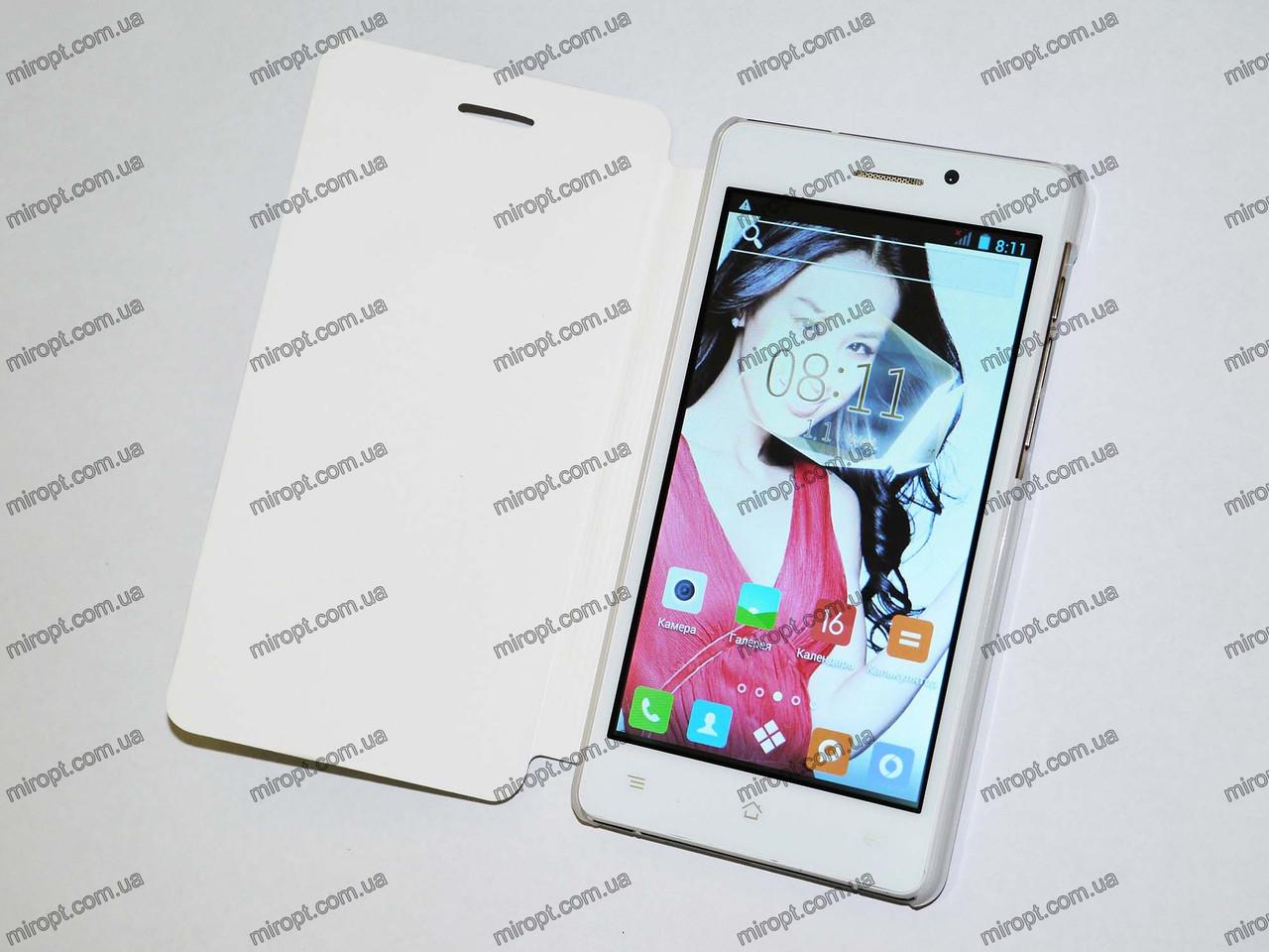 "HTC Pad R1 Белый - 5""+ 2Sim + 3G + GPS + 2Ядра + ЧЕХОЛ"