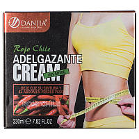 Крем для похудения Danjia rojo chile adel gazante cream 230ml, фото 1