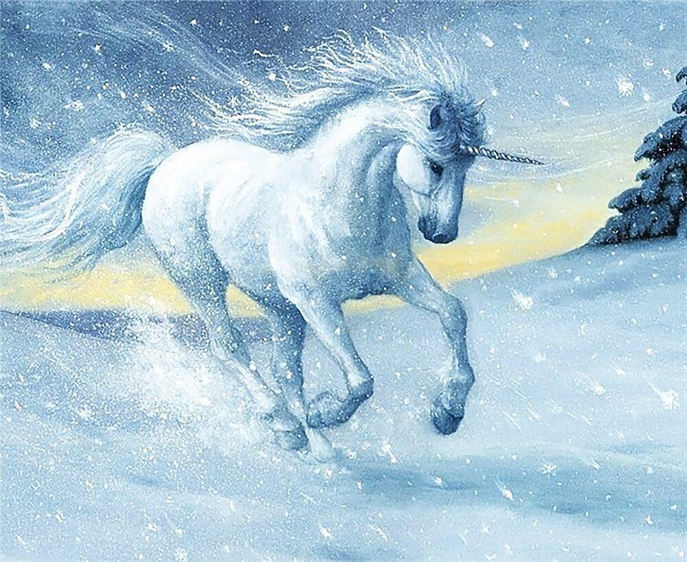 КДИ-0964 Набор алмазной вышивки Символ счастья и удачи – Единорог