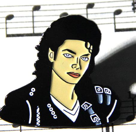 Значок брошь брошка Майкл Джексон Michael Jackson металл отличное качество