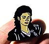 Значок брошь брошка Майкл Джексон Michael Jackson металл отличное качество, фото 2