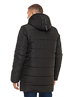 """Стильная зимняя удлиненная мужская куртка """"Герман"""""""