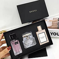 Женский Подарочный Набор Gucci 3в1 по 30мл