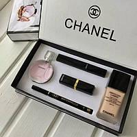 Женский подарочный набор Chanel 5в1