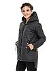 """Жіноча подовжена куртка з асиметричним низом великих розмірів """"Стелла"""", фото 5"""