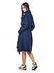 Стильный женский двубортный тренч классической длины, красный/бежевый/темно-синий, 44/46/48/50, фото 5