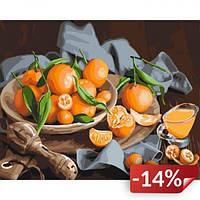 Картина по номерам Оранжевое наслаждение 40х50 см (KHO5545)