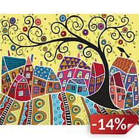Картина по номерам Яркий городок 40х50 см (KHO5019)