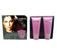 Dolce & Gabbana Pour Femme Intense Подарочный Набор Крем для Тела + Гель Для Душа, фото 1