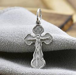 Серебряный крест Спаси и Сохрани размер 28х14 мм вес 1.26 г