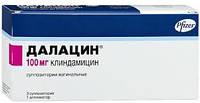 Далацин суппозитории вагинальн.100мг №3