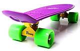 "Скейт скейтборд пенни борд 22"" фиолетовый, фото 5"