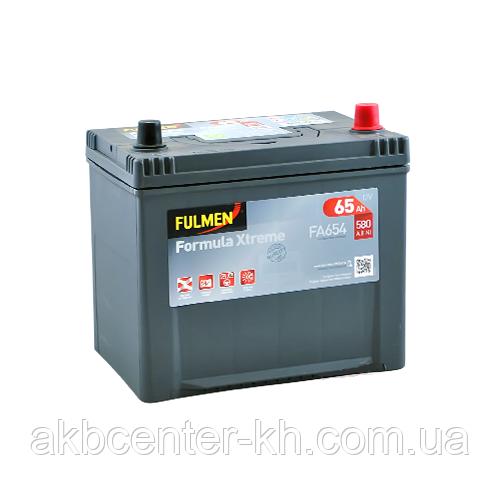 Автомобильный аккумуляторы FULMEN Formula Xtreme JP 6СТ- 65Aз 580A R