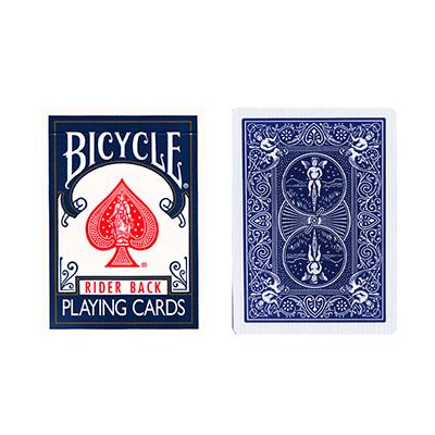 Трюковая колода | Bicycle Double Back (синяя-синяя), фото 2