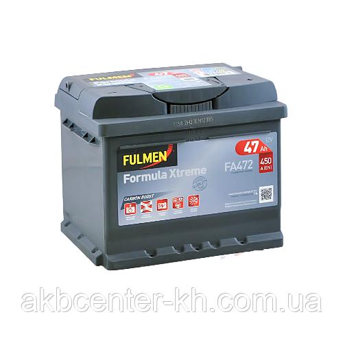Автомобильный аккумуляторы FULMEN Formula Xtreme 6СТ- 47Aз 450A R