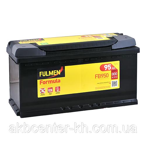 Автомобильный аккумуляторы FULMEN Formula 6СТ- 95Aз 800A R