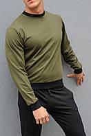 Модная спортивная кофта хаки