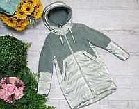 Модные детские куртки для девочек весенние рост от 122 до 146