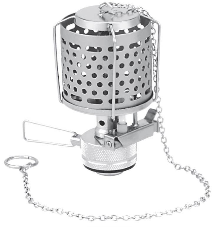 """Лампа Tramp з п""""єзопідпалом і металевим плафоном"""