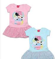 Платье трикотажное для девочек 98/128 см