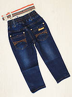 Джинсовые брюки для мальчика, Венгрия, рр. 104, 110, арт. 128,