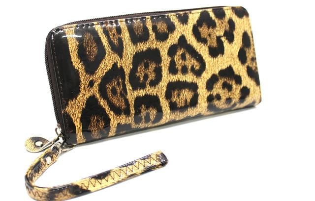 Женский стильный кошелек с принтом кожзам  YR K-03