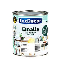 Эмаль Акриловая LuxDecor глянц 0,75л Горячий шоколад (темно коричневая)