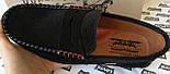 Levi's мужские пенни лоферы из натуральной замши черные ! Мокасины для весны, лета и осени levis левис, фото 6