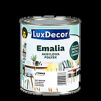 Эмаль Акриловая LuxDecor глянцевая 0,75л Спелая слива (фиолетовая)