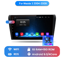 Junsun 4G Android магнитола для Mazda 3 2004 - 2013  BK BL wifi