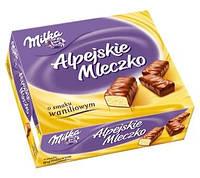 Конфеты Milka Alpejskie Mleczko Happy Cows птичье молоко ванильные, 330 г