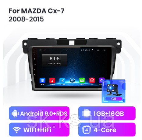 Junsun 4G Android магнитола для Mazda Cx-7 cx7 cx 7 2008-2015 wifi