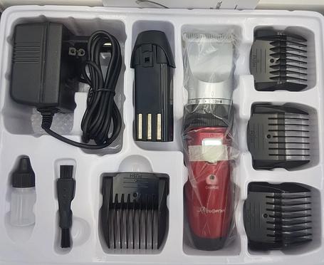 Акумуляторна машинка для стрижки волосся Gemei GM-6001, фото 2