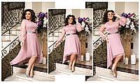 """Стильное платье для пышных дам """"Сетка"""" Dress Code, фото 1"""