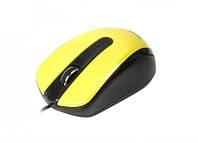 Мышь Maxxter Mc-325-Y Yellow USB