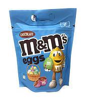 Драже M&M's в форме шоколадных пасхальных яиц 313 г.