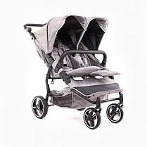 Универсальная коляска для двойни 2в1 Baby Monsters Easy Twin SE, фото 3
