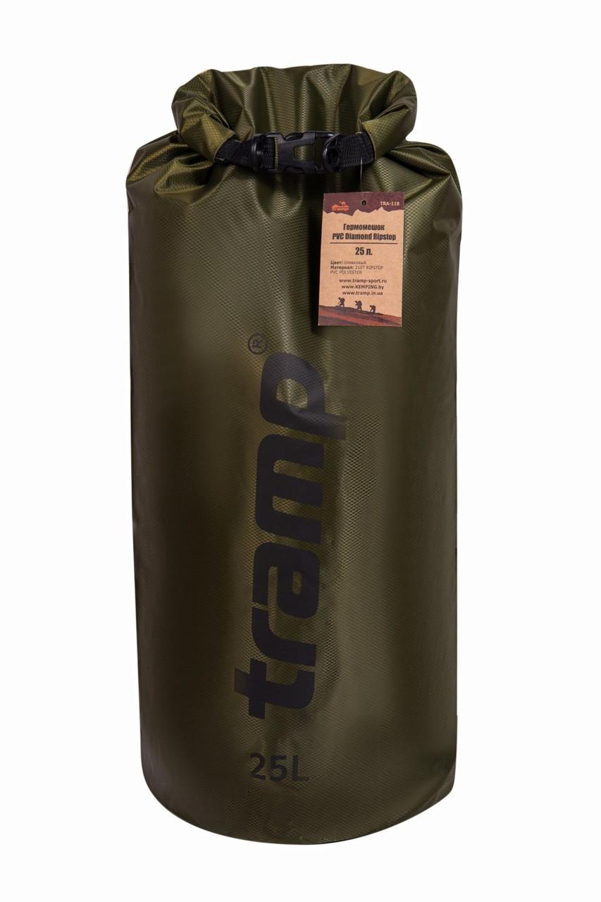 Гермомішок 25л. Tramp-olive