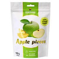 Ломтики яблочные сушеные Apple Pieces, 100 г, фото 1