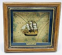 3D картина панно - морская тематика 26х28 см