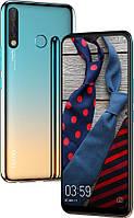 """Смартфон Tecno Camon 12 (CC7) Dual Sim Sky Cyan (4895180750939); 6.52"""" (1600х720) IPS / MediaTek Helio P22 / ОЗУ 4 ГБ / 64 ГБ встроенной + microSD до"""