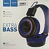 Bluetooth навушники HOCO W16, Blue, фото 5