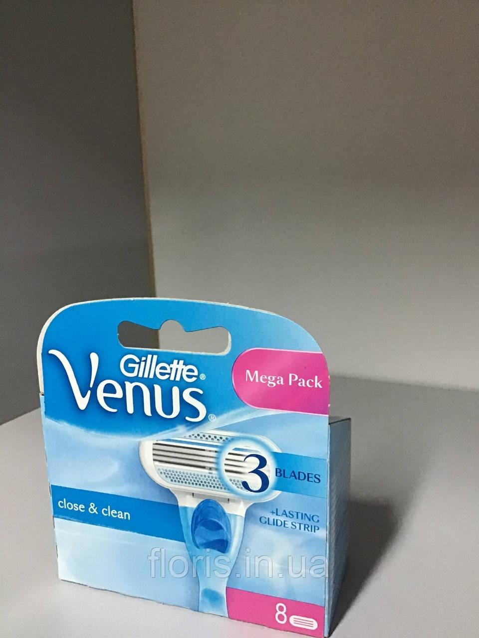 Лезвия Gillette Venus 8 шт. в упаковке