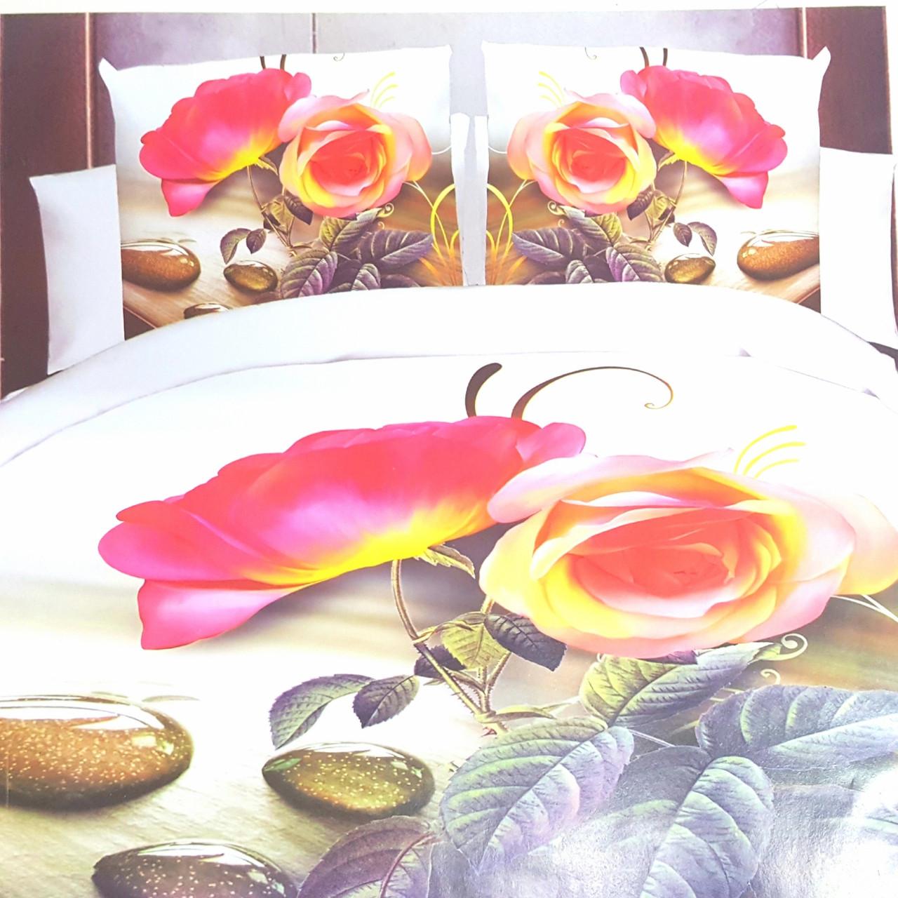 Комплект постельного белья  Евро-размер.