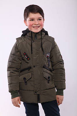 Демісезонна куртка для хлопчика розмір 32