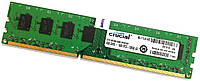 Оперативная память Crucial DDR3 4Gb 1600MHz PC3-12800U 2R8 CL11 (CT51264BA160B.M16FKD) Б/У, фото 1