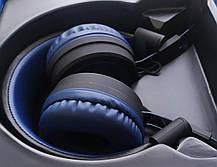 Bluetooth навушники HOCO W16, Blue, фото 3