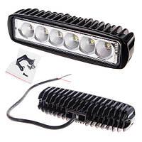 Противотуманная LED фара светодиодная  LML-K1918 FLOOD(6Led*3w) 160mm*45mm