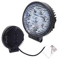 Противотуманная LED фара светодиодная  LML-K0627D SPOT(9led*2w) D=115mm