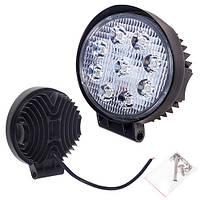 Противотуманная LED фара светодиодная  LML-K0627D FLOOD(9led*2w) D=115mm